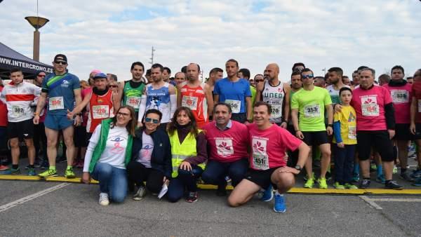Participantes en la carrera 'I love my salad'