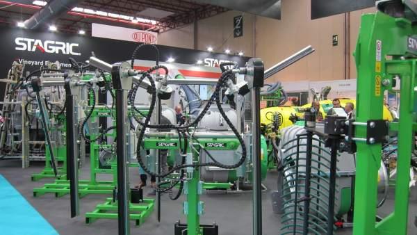Feria Internacional de Maquinaria Agrícola (FIMA) 2018.