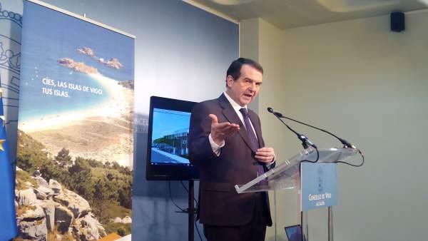El alcalde de Vigo, Abel Caballero.