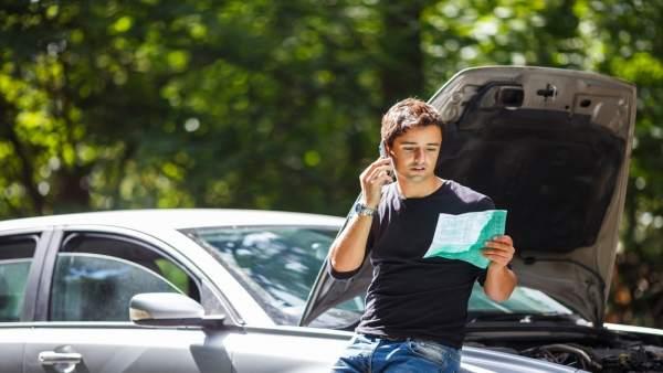 Recurso conductor, avería, automóvil, seguro
