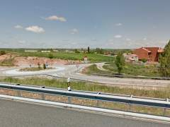 La A-1 a su paso por Lerma (Burgos)