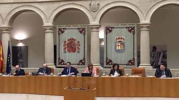 Sesión del Parlamento de La Rioja