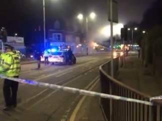 Explosión en Leicester