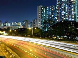 Autopista en China