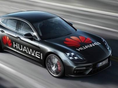Coche autónomo de Huawei