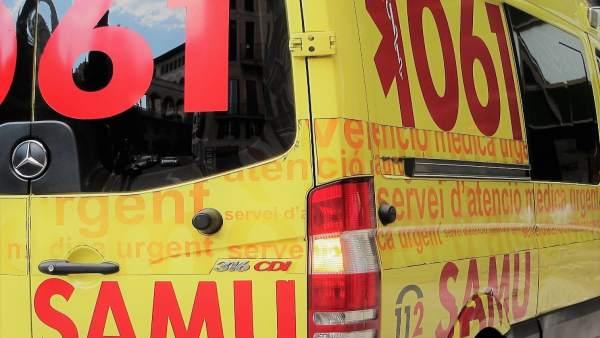 Ambulancia del SAMU 061