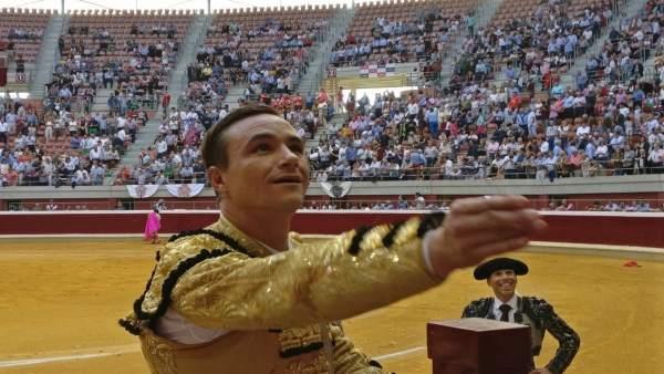 El torero Juan Bautista triunfa en Logroño en La Ribera