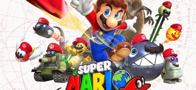 'Super Mario Odyssey'