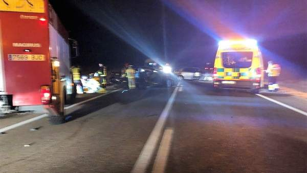 Accidente de tráfico en La Albuera