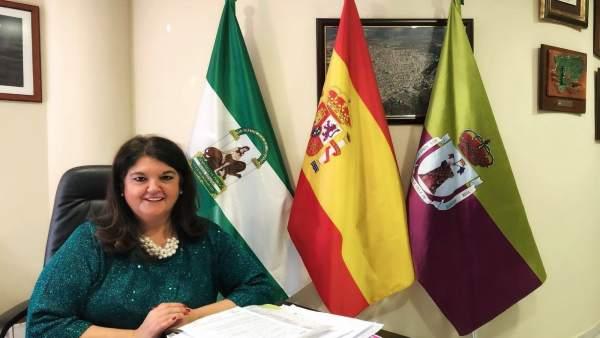 La alcaldesa de Mancha Real, María del Mar Dávila.