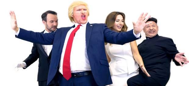 Los dobles de los Trump y Kim Jong-Un tomarán el Teatre del Raval con un musical