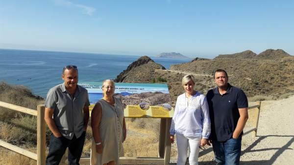 Presentación de la ordenanza reguladora para uso de las playas de Lorca