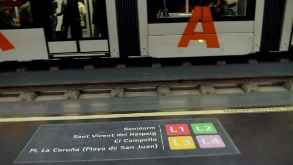 El TRAM de Alicante