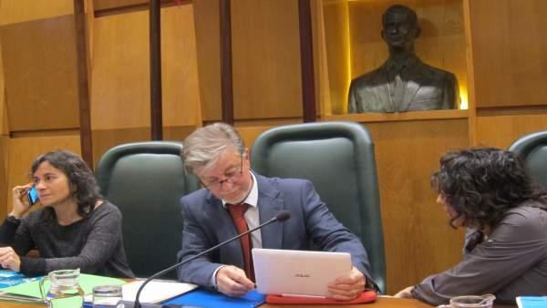 El alcalde y la Presidencia del pleno del Ayuntamiento de Zaragoz