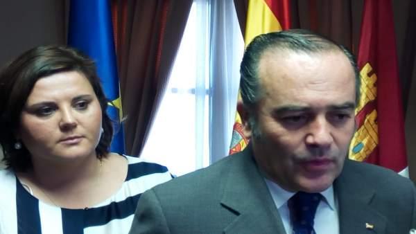 Delegado del Gobierno reunión con alcaldesa Ocaña
