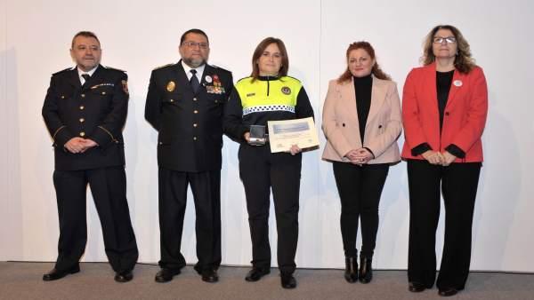 Margarita Guembe, subinspectora de la Policía Municipal de Pamplona