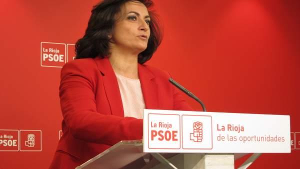 Portavoz PSOE en el Parlamento, Concha Andreu