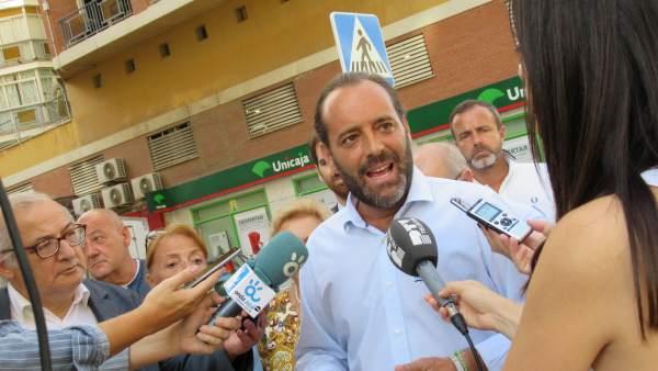 Juan Cassá en rueda de prensa