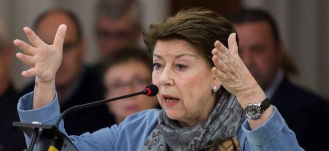 Magdalena Álvarez en el juicio de los ERE