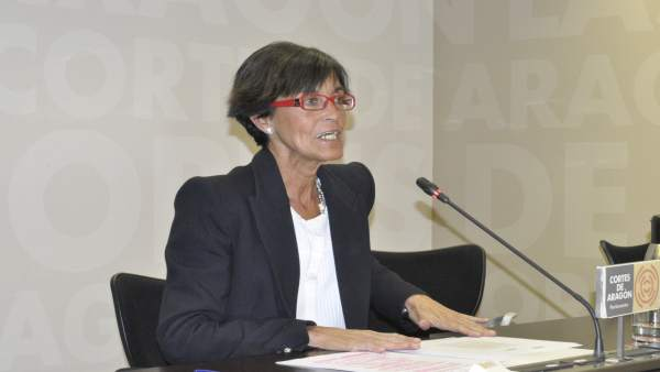 La diputada del PP en las Cortes de Aragón, María José Ferrando