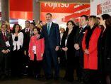 El rey Felipe VI inaugura el MWC 2018