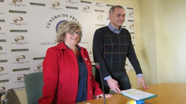 Ana Tello y Jesús García