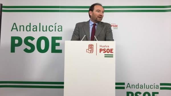 El secretario de Organización del PSOE de Huelva, Pepe Fernández.