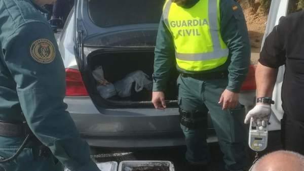 Remitiendo Np Opc Huelva 'La Guardia Civil Interviene Diferentes Sustancias Estu