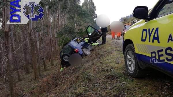 Rescate del vehículo