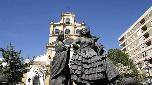Plaza de la Iglesia, en La Línea de la Concepción