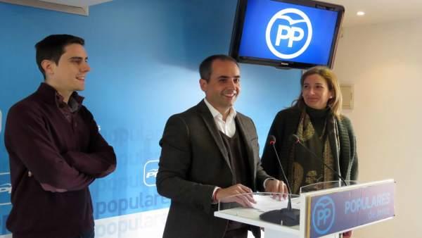 El portavoz del PP en el Ayuntamiento de Jerez, Antonio Saldaña