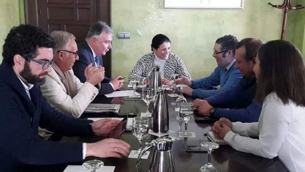 Primera reunión para la confección del Plan Romero para la romería del Rocío.