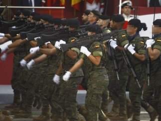 Mujeres fuerzas armadas