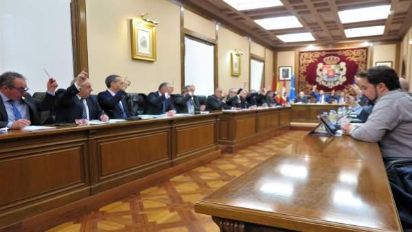 Pleno de la Diputación de Ávila correspondiente a febrero