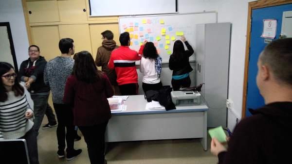 Participantes en la III Lanzadera de Empleo de Jaén.