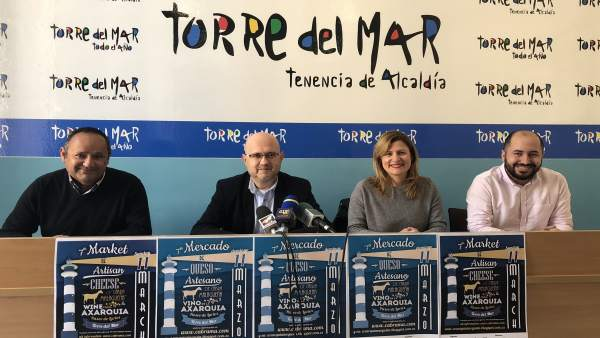 Presentación del Mercado de Queso Artesalo en Vélez-Málaga