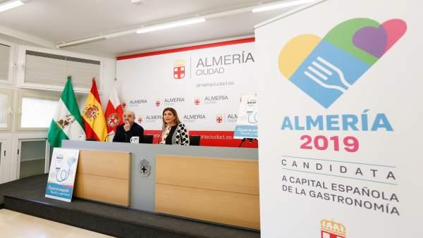 La concejal de Promoción de la Ciudad de Almería, Carolina Lafita