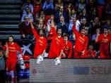 Selección española baloncesto España Montenegro