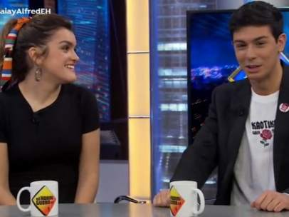 Amaia y Alfred en 'El Hormiguero'