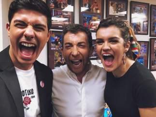 Alfred, Pablo Motos y Amaia