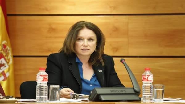 Cruz Ponce, directora general de Agricultura