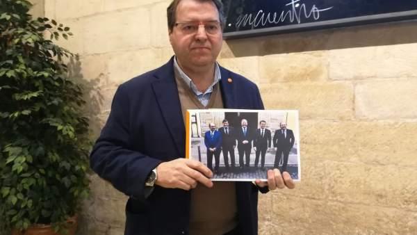 El diputado de Ciudadanos Tomás Martínez Flaño