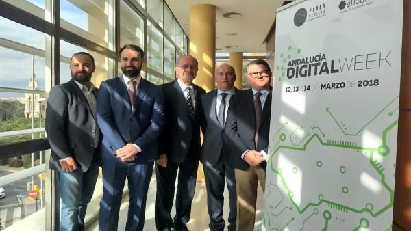 Inauguración de las jornadas Andalucía Digital Week