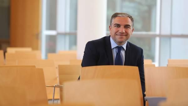 El presidente del PP de Málaga y portavoz del PP-A Elías Bendodo