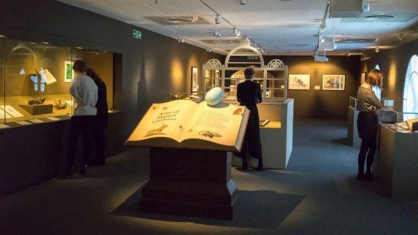 Exposición Harry Potter y la historia de la magia biblioteca Londres