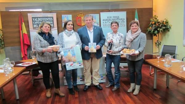 Presentación de la XIX Feria Agroalimentaria de Valdefuentes