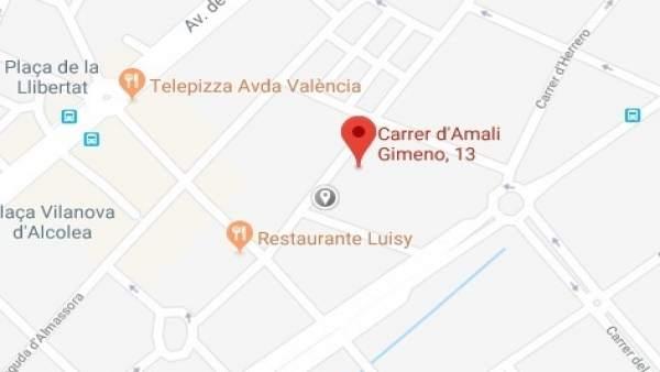 Detinguda una dona de 63 anys per propinar dos punyalades al seu marit amb un ganivet de cuina a Castelló