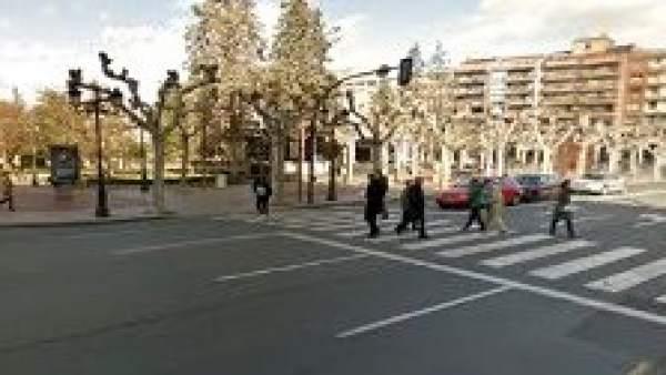 Imagen de  la zona de la Concha de El Espolón