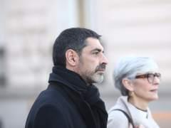 Trapero llega a la Audiencia Nacional para declarar por el procés.