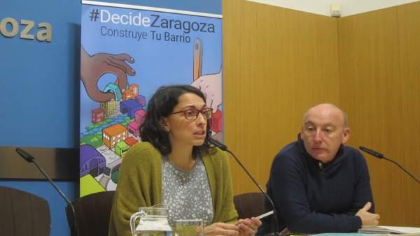 La consejera municipal de Participación Ciudadana, Elena Giner